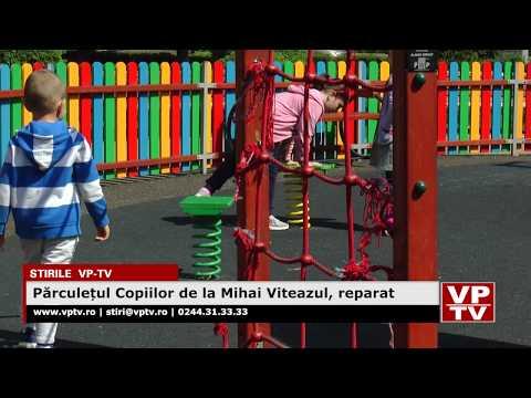 Părculețul Copiilor de la Mihai Viteazul, reparat