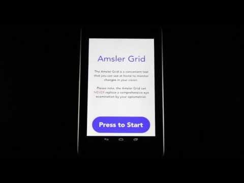 Video of Amsler Grid