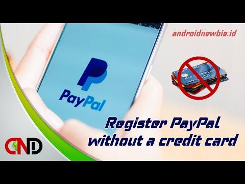 Video Cara membuat rekening Paypal tanpa verifikasi kartu kredit (VCC)