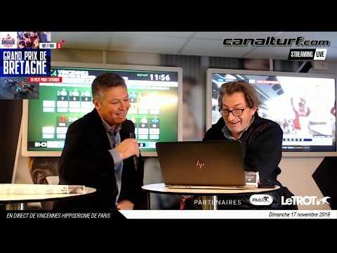 Pronostic et course du Grand Prix de Bretagne 2019 par Pierre Vercuysse et Dominique Cordier
