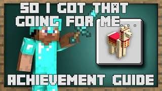 Minecraft - So I Got That Going For Me... Achievement Guide