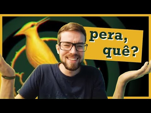 LENDO O NOVO LIVRO DE JOGOS VORAZES, A CANTIGA DOS P�SSAROS E DAS SERPENTES E... QUÊ?   #Lucas