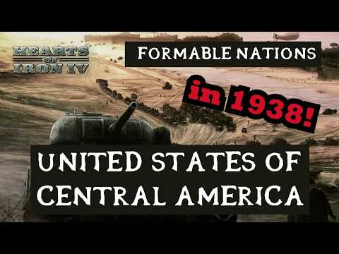 Hearts of Iron 4: Formable Nations - Central America as El Salvador