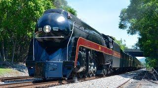 Norfolk & Western 611 Steam Train!