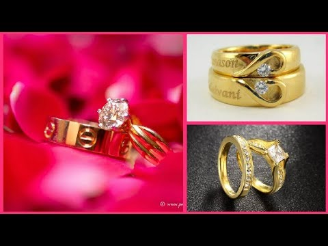 Couple Engagement And Wedding Rings Set || Indian Wedding/Engagement Rings
