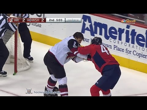 Luke Schenn vs Tom Wilson