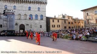 preview picture of video 'Montepulciano -  Piccoli Sbandieratori e Tamburini 2011 - Aspettando il Bravio'
