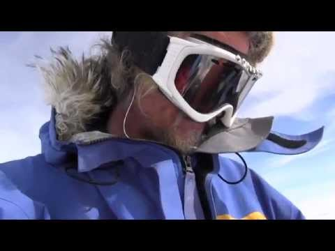 Guy on a South Pole expedition finds some candy he stashed. Pure happiness :)
