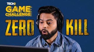 Zero Kill Challenge with RakaZone Gaming | Tech2 Game Challenge | PUBG