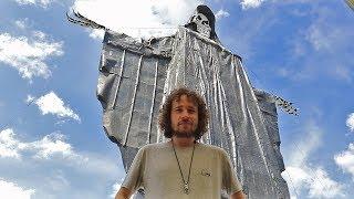 Así es el TEMPLO DE LA MUERTE más grande del mundo... | Santa Muerte