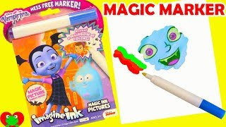 Vampirina Coloring Magic Marker and Surprises