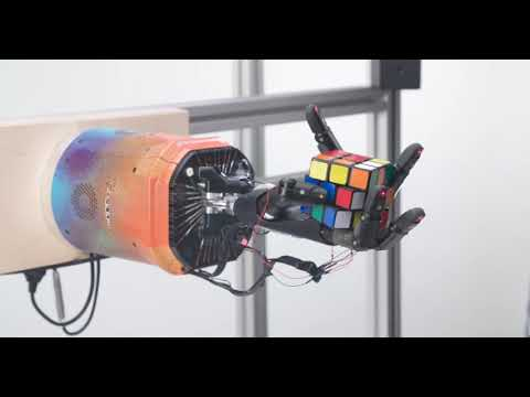 Watch OpenAI's 'human-like' robotic clear up a Rubik's Dice one-handed