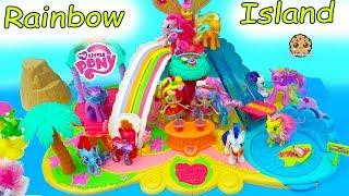 My Little Pony Rainbow Island Vacation - MLP + Shopkins Shoppies Toy Video