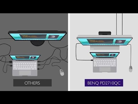 """BenQ PD2710QC (27"""", 2560 x 1440 Pixels)"""
