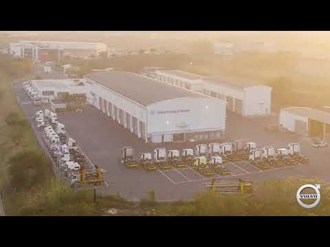 The new Volvo Truck and Bus Centre in Durban, KZN.