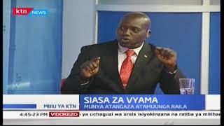 Peter Munya atangaza msimamo wake kumuunga Raila Odinga kwa kinyang'anyiro unaowania