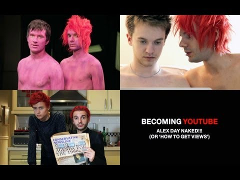 Becoming YouTube #2: Alex Day nahý!!!