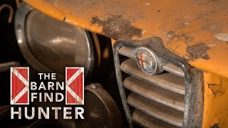 A slew of dusty Italian sports cars hidden in muscle car country | Barn Find Hunter - Ep. 30