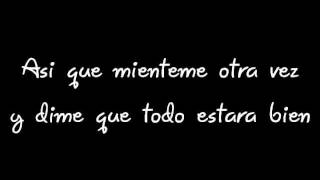 Lie to me (Acoustic)-12 Stones (Subtitulada en español)