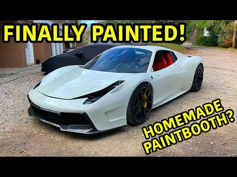 Rebuilding A Wrecked Ferrari 458 Spider Part 12