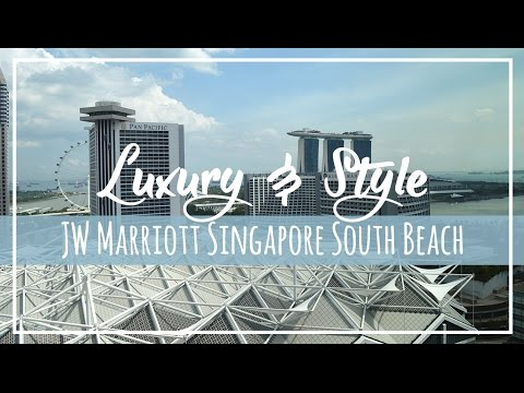 Tour | JW Marriott Singapore Hotel South Beach | Executive Club Room & Lounge