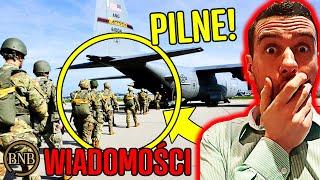 Siły powietrzne USA NAD POLSKĄ! Stanowcza reakcja rządu | WIADOMOŚCI