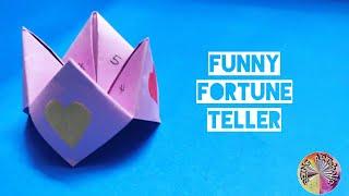 How to make Fortune Teller | Origami Funny Fortune Teller | Easy origami for Kids #003