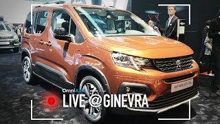 Peugeot Rifter | Salone di Ginevra 2018