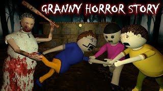 Android Game Granny Horror Story Animated Cartoon For Kids Make Joke Horror