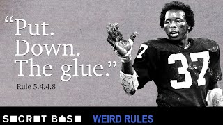 The NFL may have banned stickum, but Lester Hayes got to keep his interception record | Weird Rules thumbnail