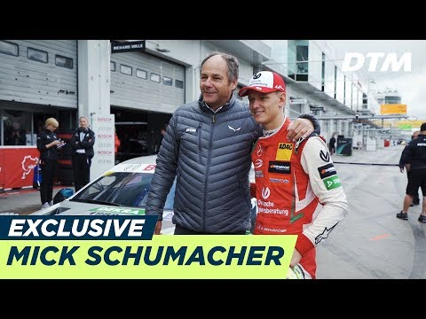 Mick Schumacher turns demo laps in the DTM Car | DTM Exclusive