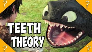 Why does Toothless have RETRACTABLE teeth