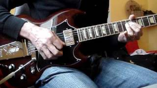 ACDC Rising power solo cover