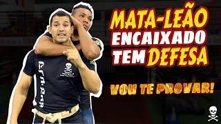MATA LEÃO ENCAIXADO TEM DEFESA SIM ! POSSO TE PROVAR | KRAV MAGA