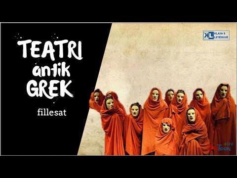 Teatri antik grek - Fillesat [Klasa e letërsisë]