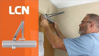 How to Install LCN 1460 Door Closer