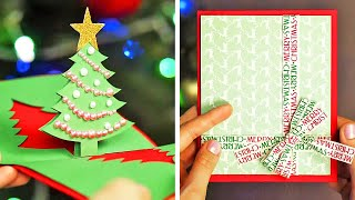 25 DIY CUTEST CHRISTMAS CARDS WHICH NO ONE ELSE WILL HAVE