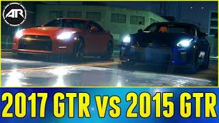 2017 NISSAN GTR vs 2015 NISSAN GTR CHALLENGE - Need For Speed Gameplay Online