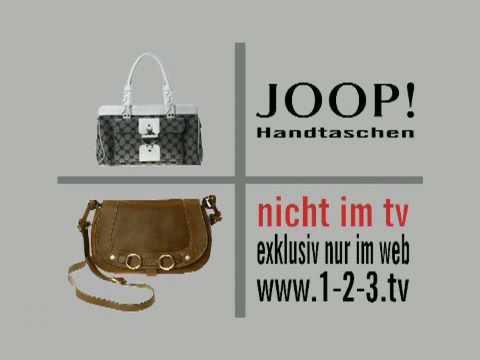 Joop Handtaschen auf 1-2-3.tv