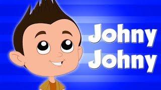 Johny Johny да папочка | потешки для детей | Песни для детей | Baby Rhymes | Kids Cartoon
