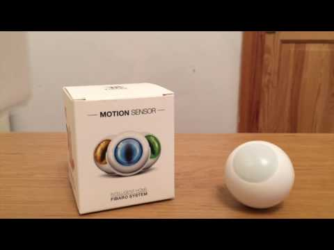 Review - Fibaro Z-Wave Motion Sensor (2016 Version)