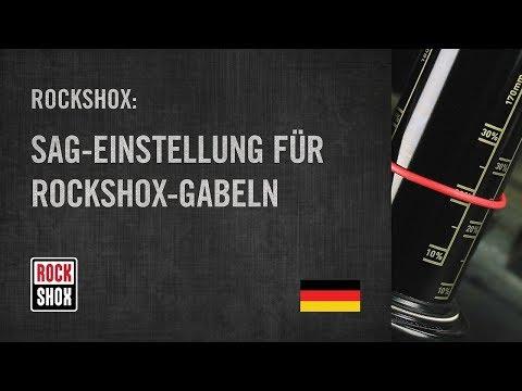 ROCKSHOX: Sag-Einstellung für RockShox-Gabeln
