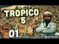 O Skylines Do Caribe Tropico 5 01 Gameplay Portugu s Pt