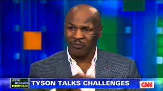 Mike Tyson Talks One Man Show UNDISPUTED TRUTH On Piers Morgan Tonight (CNN)