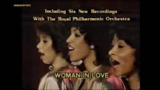 THE THREE DEGREES  70s=80s female pop group  ALBUM = GOLD = TV ADVERT  early 80s  LWT