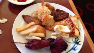 My Trip to Cafe China Super Buffet (Tustin, CA).Good Service. Boring and Lame Video Review