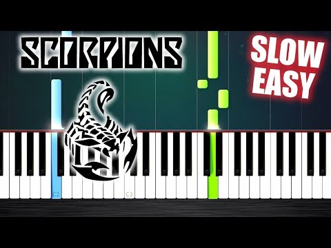 Scorpions - Wind Of Change - SLOW EASY Piano Tutorial by PlutaX