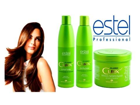 ESTEL CUREX для всех типов волос. Обзор маска Эстель отзывы.