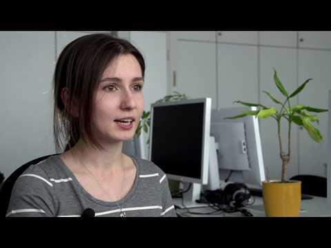 Informatikstudium an der HsKA: Tetiana Ulianova erzählt