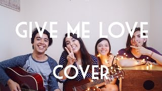 Give me love (ukulele cover) || Dani ft. friends